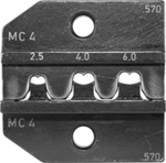 Crimp Die Set for MC4 (14/12/10 AWG) solar contact